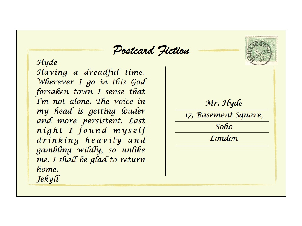 How to Write a Postcard in a Correct Way