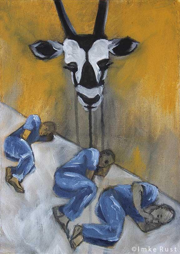 """Crying Oryx"" by Imke Rust"