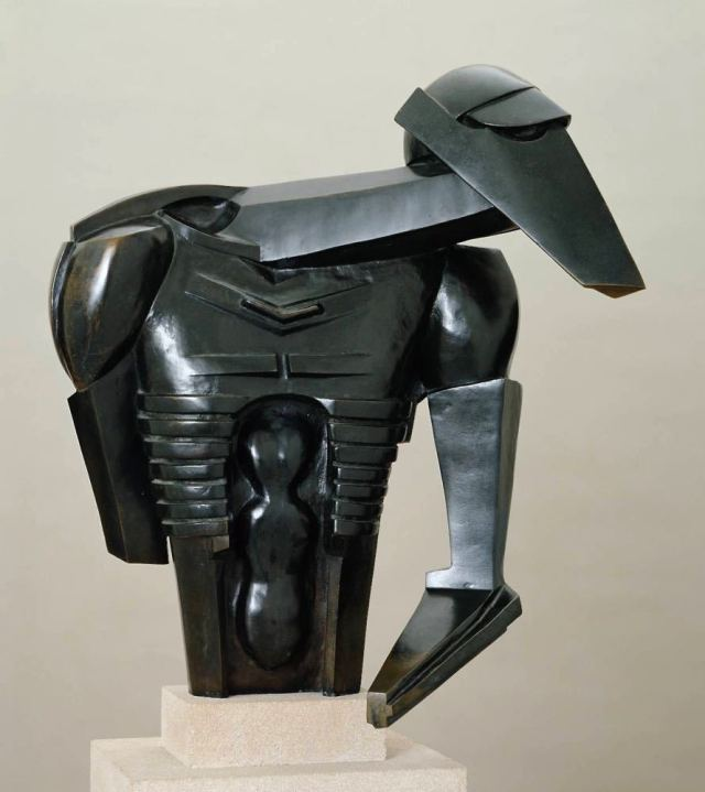Torso in Metal from 'The Rock Drill' 1913-14 by Sir Jacob Epstein 1880-1959
