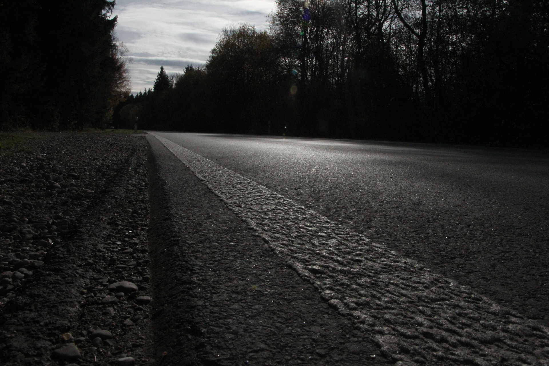 A Dark and Scary Road